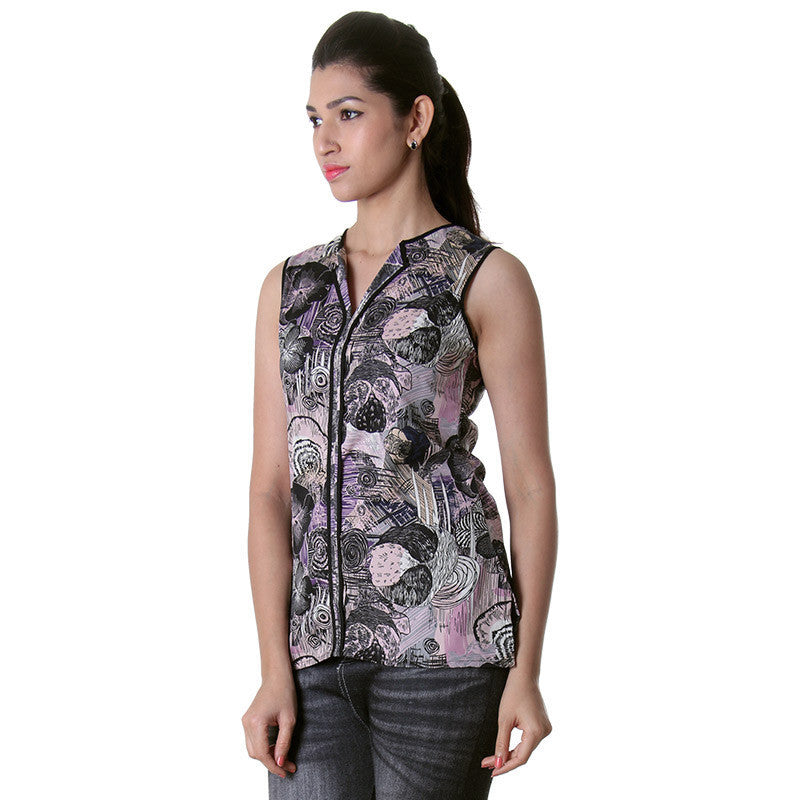 Stylish Printed Trendy Top From eSTYLe