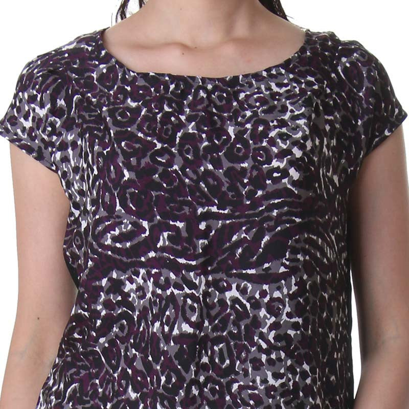 Multi Colour Print Royal Top From eSTYLe
