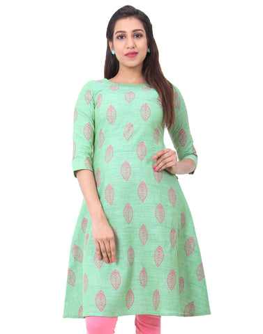 Greenbriar Cotton Straight-Cut Kurta