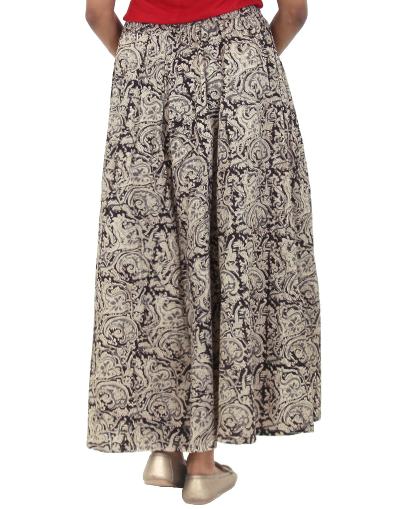 Cotton Kalamkari Printed Long Skirt