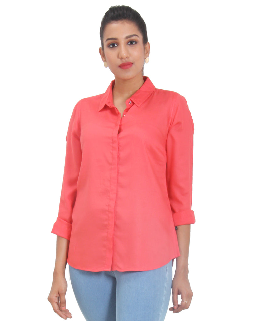 Dubarry Solid Rayon Top
