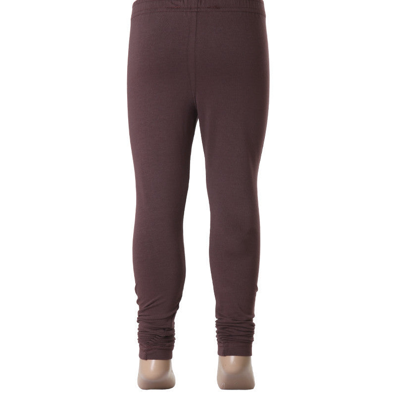 Old Wine Super Rich Finish Cotton Lycra Leggings For Kids from eSTYLe  Girls
