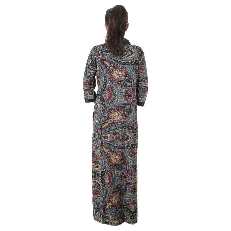 Daily Wear Sleep Gown Night Ankle Length Over Coat