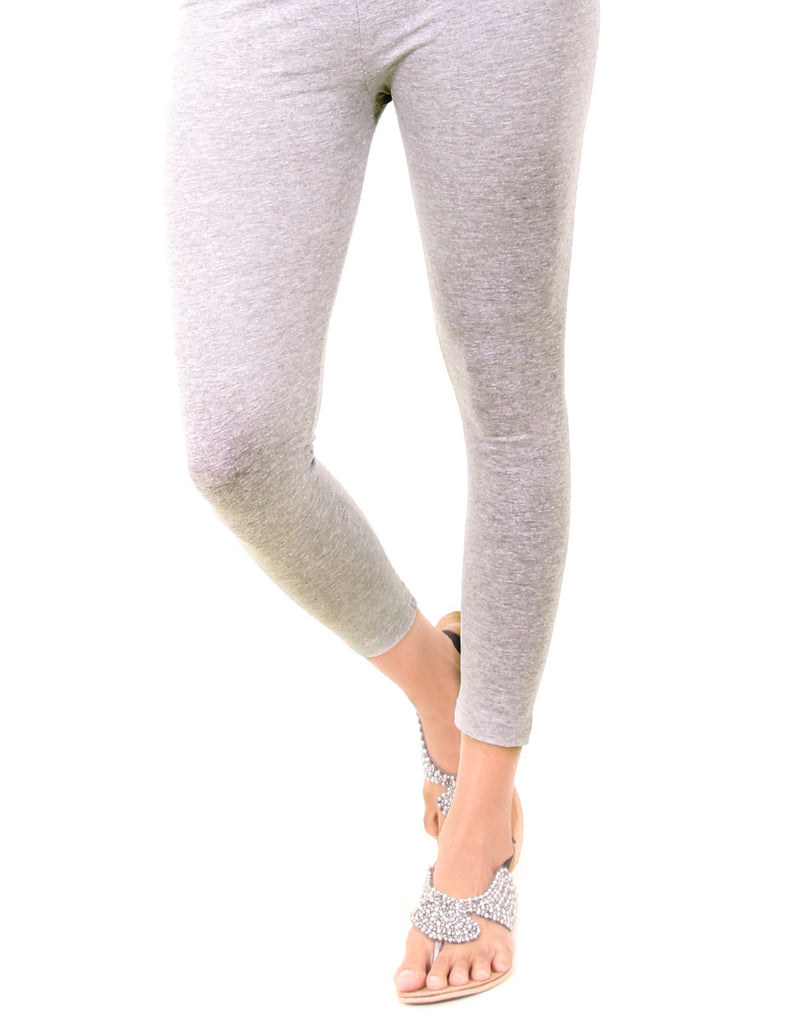 Glacier Gray Ankle Leggings