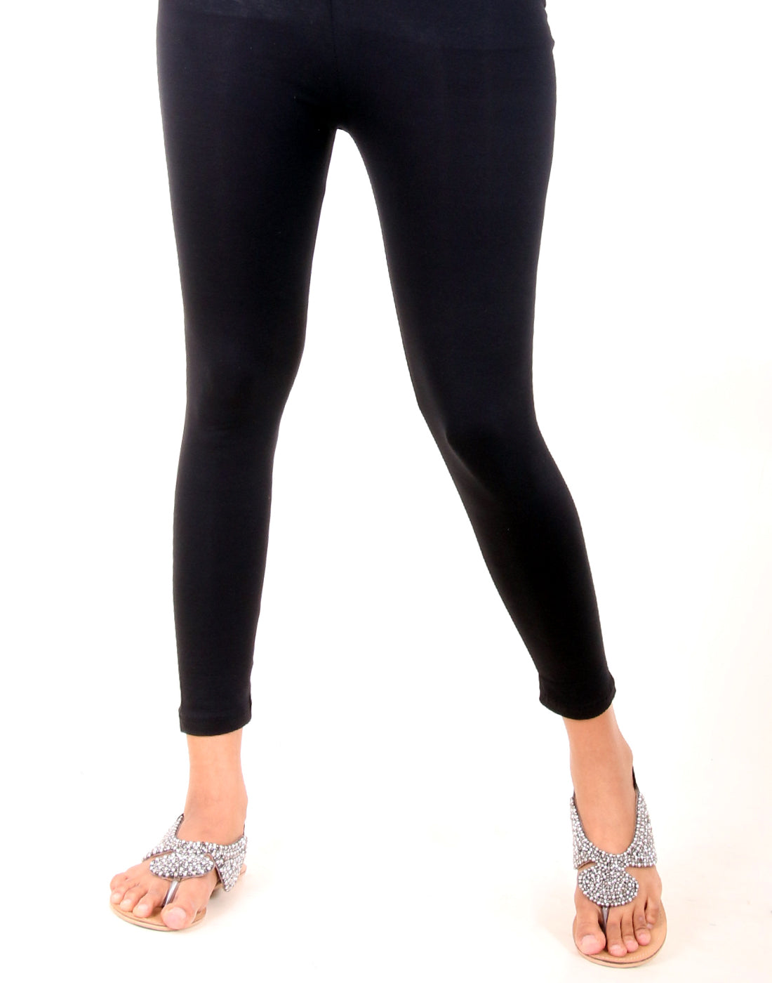 Black Ankle Leggings