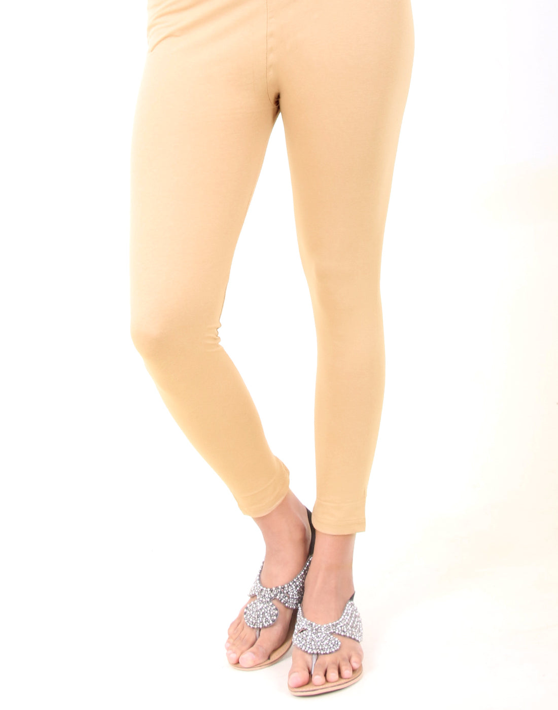 Warm Sand Ankle Leggings