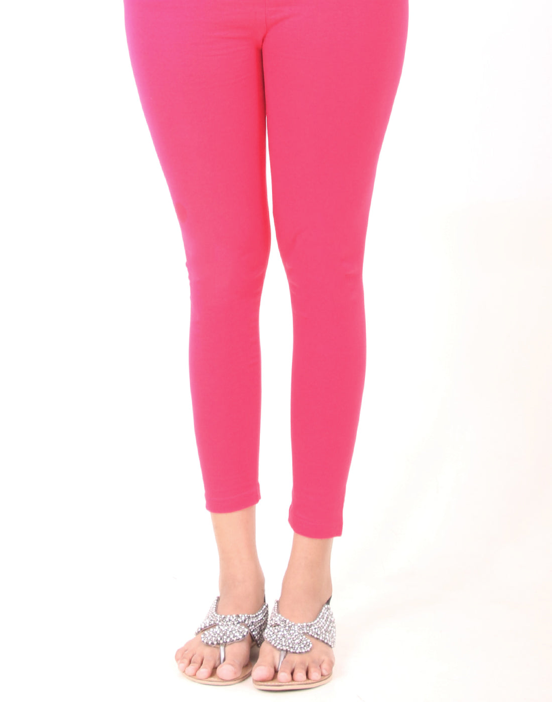 Virtual Pink Ankle Leggings