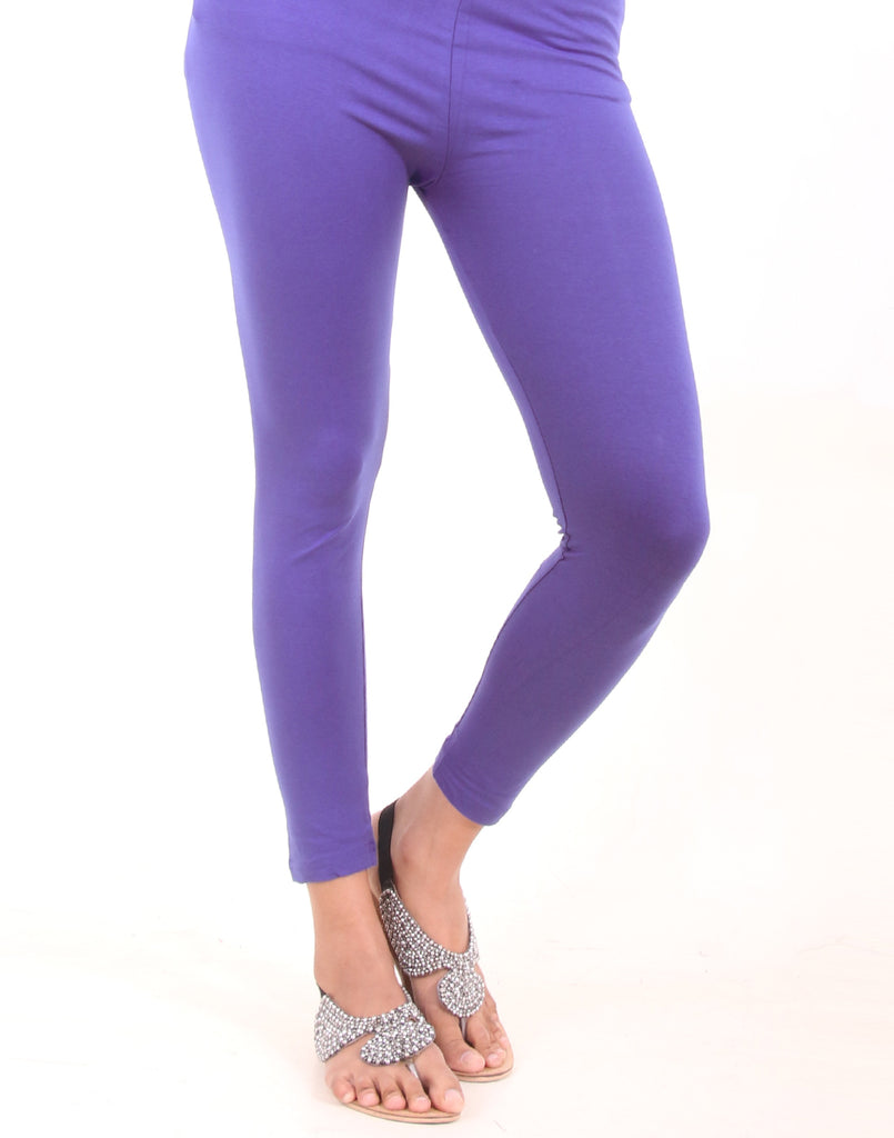 Pirate Blue Ankle Leggings