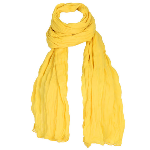 Aspen Gold Yellow Soft Chiffon Dupatta From eSTYLe