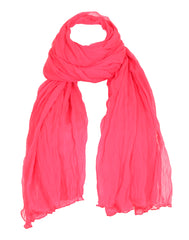 Hot Pink Ultra Soft Chiffon Dupatta From eSTYLe