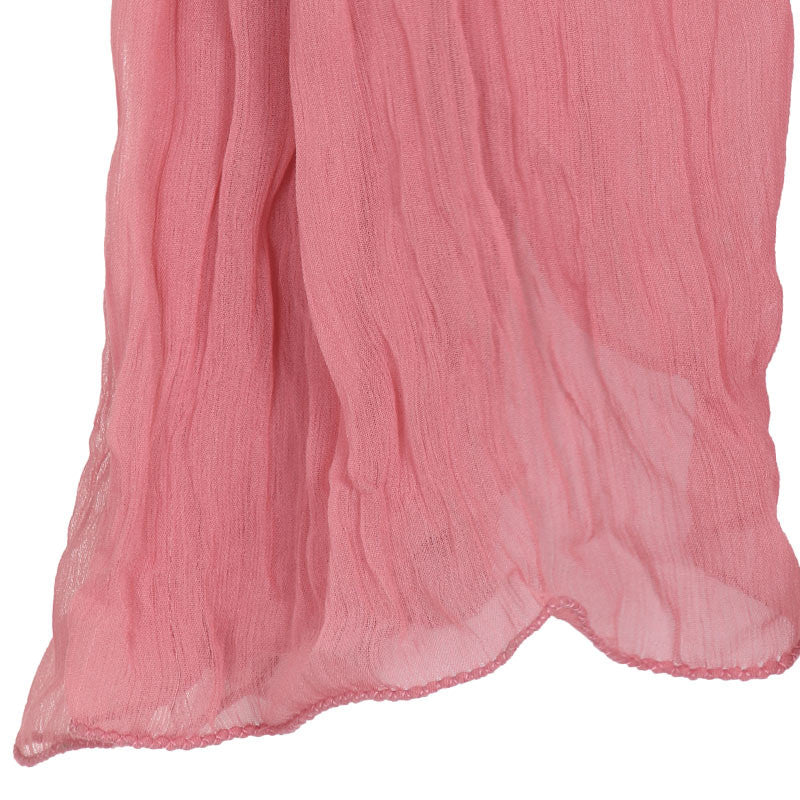 Blush Peach Soft Chiffon Dupatta From eSTYLe