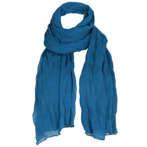Turkish Blue Soft Chiffon Dupatta From eSTYLe