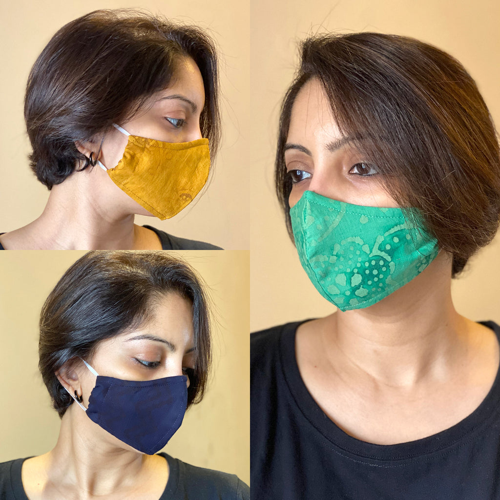 Protective 3 Layer designer mask (pack of 3) FEM01-22