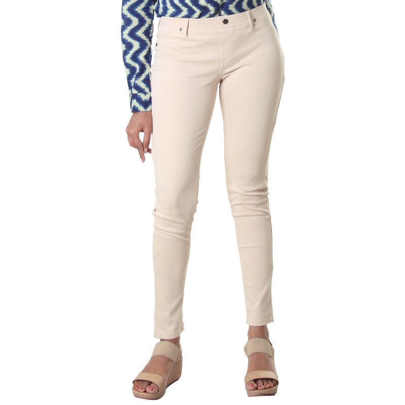 Novelle Peach Western Style Solid Jeggings From eSTYLe