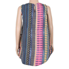 Multi Colour Casual Prints Gown From eSTYLe Girls