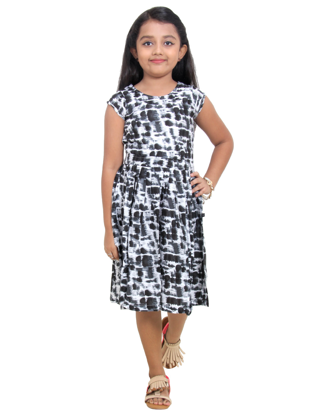 Pirate Black Party Wear Dress For Girls