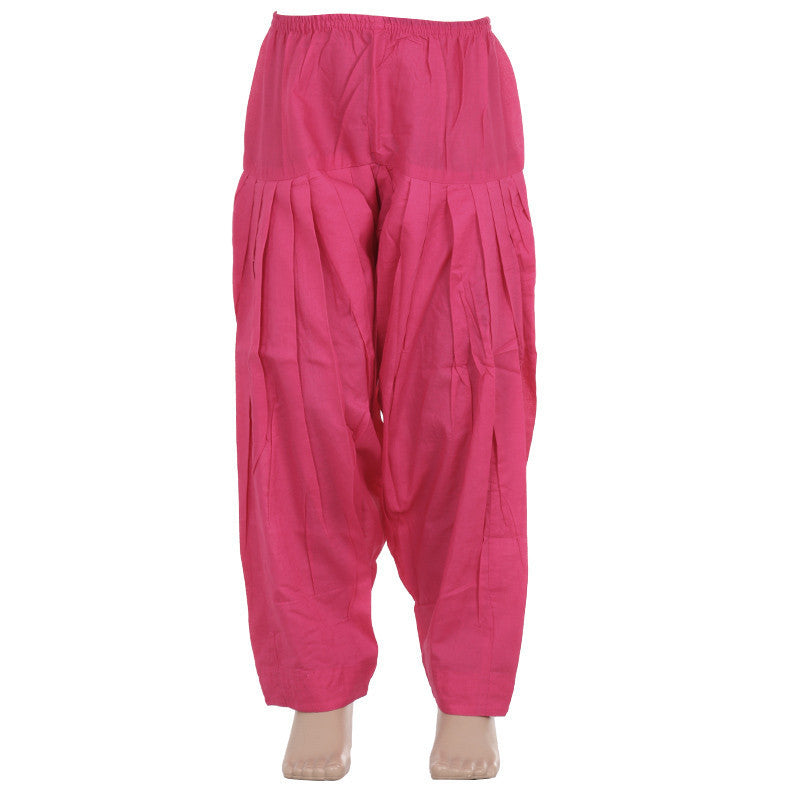 Raspberry Sorbet Pure Cotton Patiala From eSTYLe Girls
