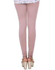 Fawn Cotton Lycra Churidhar Leggings
