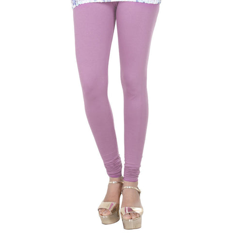 eSTYLe Lavender Herb Colour Lycra Cotton Fancy Leggings