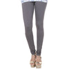 eSTYLe Plum Kitten Grey Pure Lycra Cotton Stunnning Look Leggings
