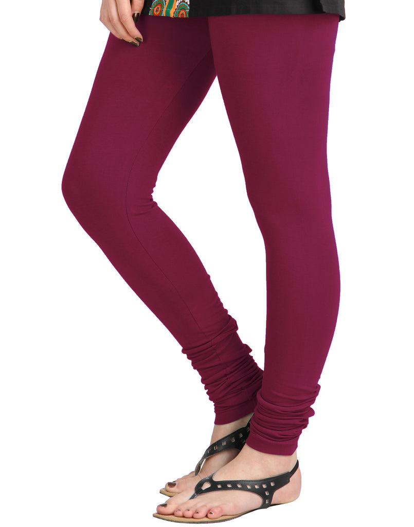 Anemone Cotton Lycra Churidhar Leggings