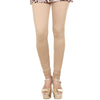 eSTYLe Candied Ginger Beige Colour Pure Lycra Cotton Leggings
