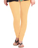 Apricot Sherbet Cotton Lycra Churidhar Leggings