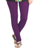 Gentian Violet Cotton Lycra Churidhar Leggings
