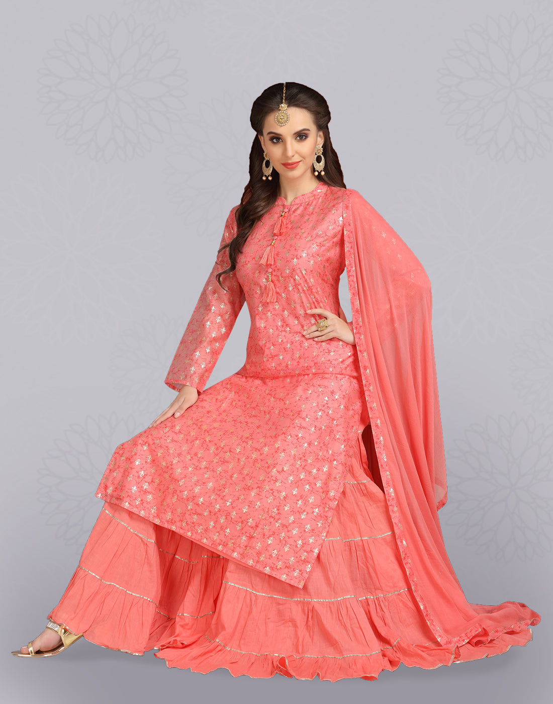 adbe518cb4f Indian Churidar Suits   Trendy Salwar Kameez