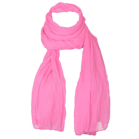 Fluorescent Pink Ultra Soft Chiffon Dupatta From eSTYLe