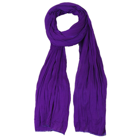 Dark Violet Ultra Soft Chiffon Dupatta From eSTYLe