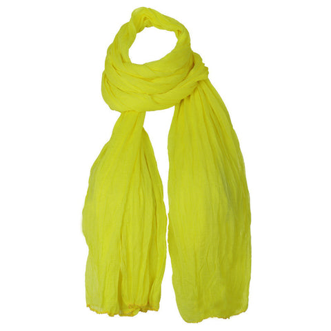 Mild Yellow Ultra Soft Chiffon Dupatta From eSTYLe