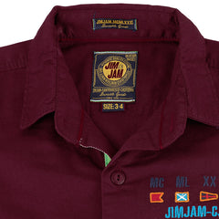 Jim & Jam -  Dark Brown Full Sleeve Shirts