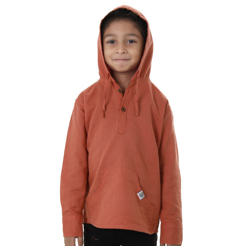 Ice Boys - Rosewood Full Sleeve Cotton Hoodies