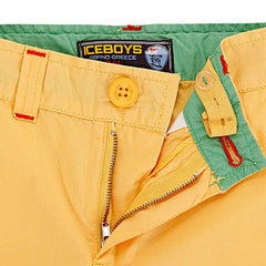 Ice Boys - Yellow Fish Printed Shorts For Boys