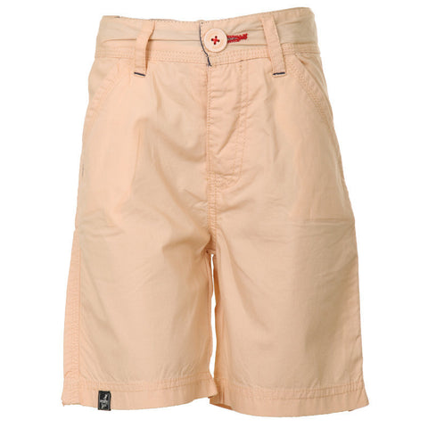 Ice Boys - Tender Peach Cotton Shorts For Boys