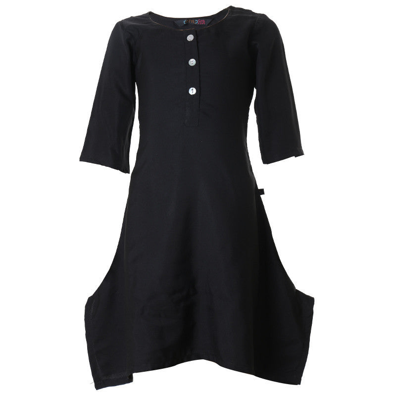 Moonless Night Pretty Kids Kurta From eSTYLe Girls