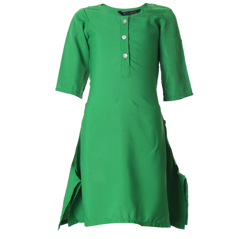 eSTYLe Jelly Bean Polyster Stylish Kurta For Kids