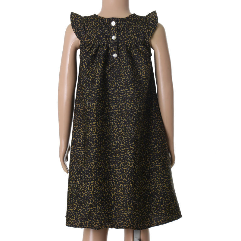 Animal Printed Western Frock From eSTYLe Girls