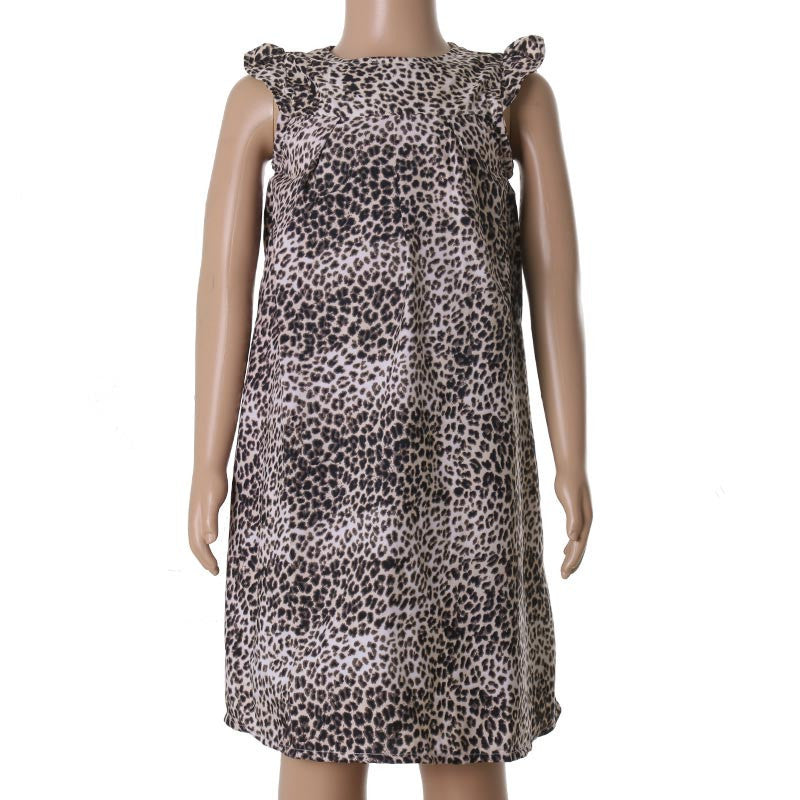 eSTYLe Girls Animal Printed Trendy Polyster Frock For Kids