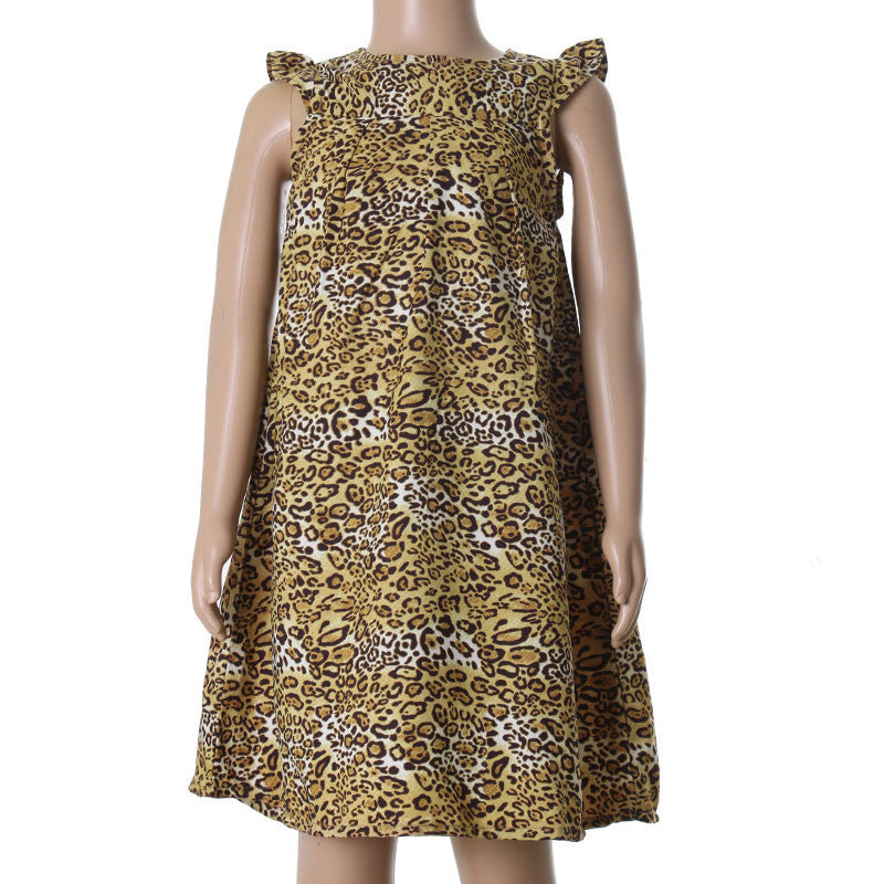 Animal Printed Kids Frock From eSTYLe Girls