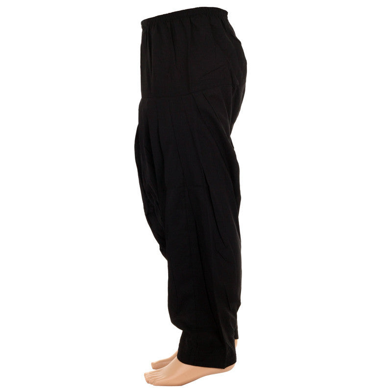 Kids Black Colour Patiala Bottom