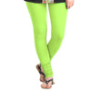 Contrast Sharp Green Colour Lycra Cotton Leggings From eSTYLe