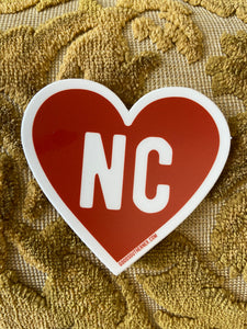 Heart NC Sticker
