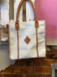 Purity Leather and Hair on Bag