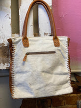 Load image into Gallery viewer, Purity Leather and Hair on Bag