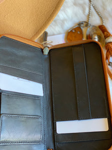 Milky Way Leather and Hair on Hide Wallet