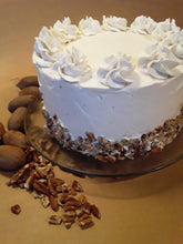 Load image into Gallery viewer, Browned Butter Pecan Cake with Buttercream Frosting