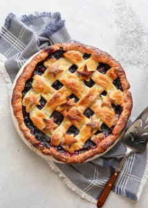 Mini Classic Berry Blueberry Pie