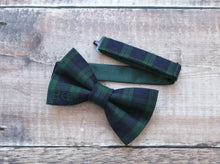 Load image into Gallery viewer, Personalised Tartan Bowtie.